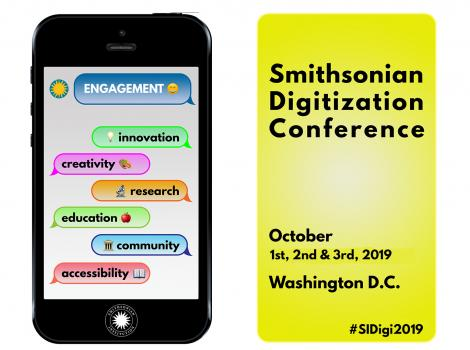 2019 Smithsonian Digitization Conference logo