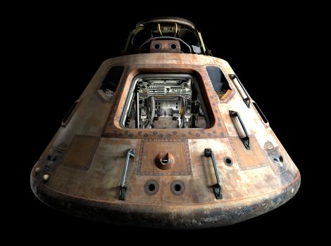 Apollo 11 Command Module 3D model