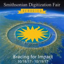 Impact Poster for the 2017 Smithsonian Digitization Fair
